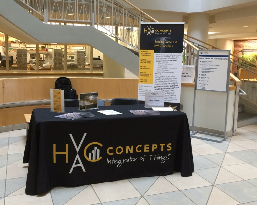 HVAC Concepts Recruiting at Hood College