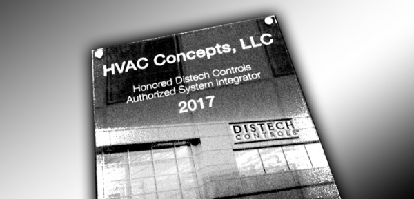 Honored Distech Controls Authorized System Integrator Award 2017