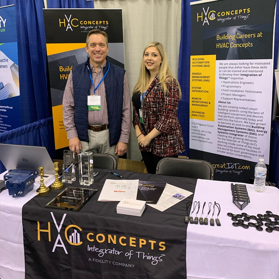Successful Day at Pennsylvania College of Technology Career Fair Fall 2019